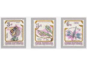 ČR 1995 / 073-075 / Ohrozený hmyz