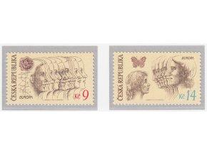 ČR 1995 / 076-077 / EUROPA - mier a sloboda