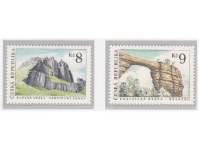 ČR 1995 / 078-079 / Krásy vlasti - skalné útvary