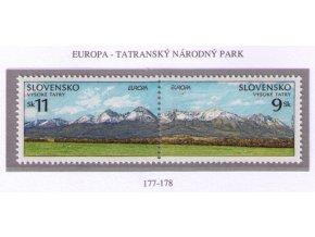 SR 1999 / 177-178 / EUROPA - Tatranský národný park
