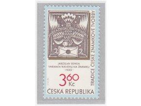ČR 1996 / 101 / Tradícia českej známkovej tvorby