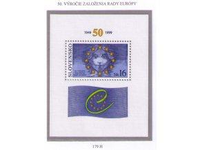 SR 179 H 50. výročie založenia Rady Európy