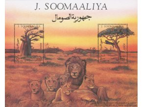 Somalsko 0536 Bl 34