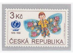 ČR 1996 / 121 / 50. výročie UNICEF