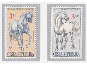 ČR 1996 / 122-123 / Kladrubské kone