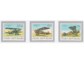 ČR 126-128 Čs. historické lietadlá