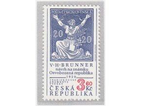 ČR 1997 / 133 / Tradícia českej známkovej tvorby