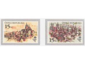 ČR 1997 / 156-157 / Praga 1998 - Praha stovežatá