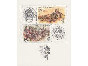 ČR 158 H Praga 1998 - Praha stovežatá