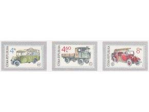 ČR 1997 / 159-161 / Československé historické úžitkové vozidlá