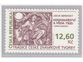ČR 166 Tradícia českej známkovej tvorby