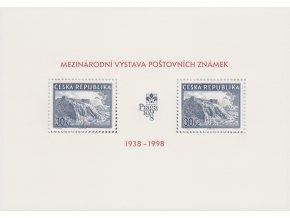 ČR 1998 / 171 H / História výstav - Praga 1998