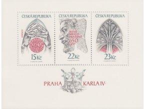 ČR 1998 / 174-176 H / Praha Karla IV.
