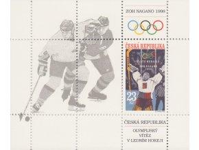 ČR 177 H ZOH Nagano - zlatá medaila v hokeji