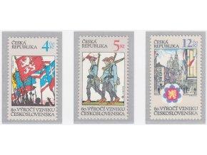 ČR 195-197 80. výr. vzniku ČSR
