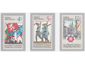 ČR 1998 / 195-197 / 80. výr. vzniku ČSR