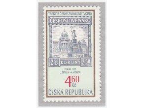 ČR 1999 / 204 / Tradícia českej známkovej tvorby
