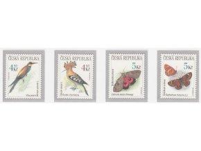 ČR 1999 / 209-212 / Ochrana prírody - vtáky a motýle