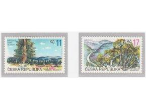 ČR 1999 / 216-217 / EUROPA - prírodné rezervácie a parky