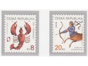 ČR 1999 / 227-228 / Znamenia zverokruhu