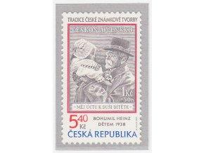 ČR 243 Tradícia českej známkovej tvorby