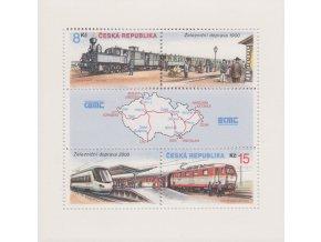 ČR 2000 / 254-255 H / Železnice roku 1900 a roku 2000