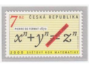 ČR 2000 / 260 / Svetový rok matematiky