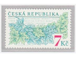 ČR 2000 / 270 / Výročné zasadanie MMF a svetovej banky v Prahe