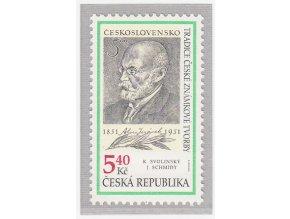 ČR 281 Tradícia českej známkovej tvorby