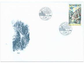 SR 2000 / 199-200 / Krásy našej vlasti FDC (2)