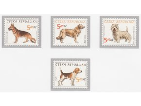 ČR 296-299 Chovateľstvo - psi