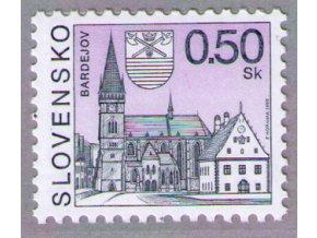 SR 2000 / 203 / Mestá - Bardejov