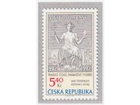 ČR 2002 / 313 / Tradícia českej známkovej tvorby