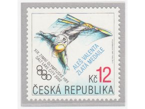 ČR 2002 / 318 / ZOH zlatá medaila - Aleš Valenta