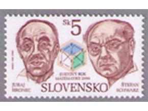 SR 2000 / 205 / Svetový rok matematiky