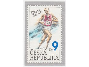 ČR 2002 / 332 / Osobnosti - Emil Zátopek