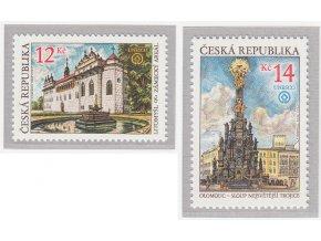 ČR 2002 / 333-334 / Krásy vlasti - UNESCO