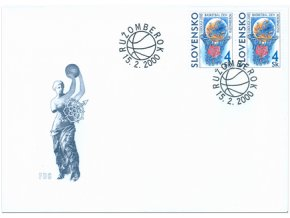 SR 206 Euroliga 2000 - basketbal žien FDC