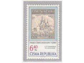 ČR 2003 / 347 / Tradícia českej známkovej tvorby