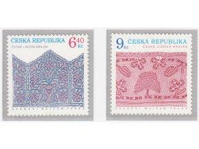 ČR 2003 / 352-353 / Tradície ľudovej tvorby - Krajky