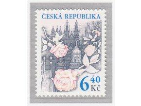 ČR 2003 / 354 / Ruže nad Prahou