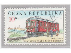 ČR 359 100 r. prevádzky trati Tábor - Bechyně
