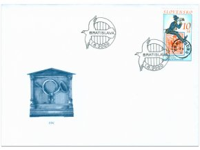 SR 2000 / 209 / 150. výročie prvej známky platnej na našom území FDC
