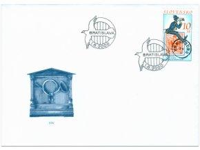 SR 209 150. výročie prvej známky platnej na našom území FDC