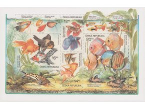 ČR 365-368 H Akvárijné rybičky