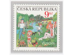 ČR 2004 / 396 / EUROPA - prázdniny