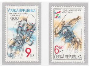 ČR 405-406 Letné olympijske a paralympijske hry Atény