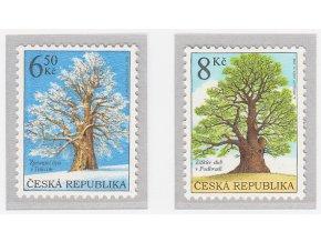 ČR 2004 / 407-408 / Ochrana prírody - chránené stromy