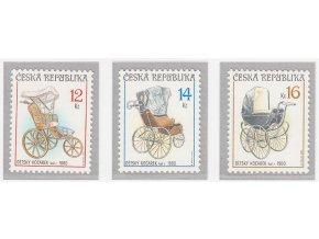 ČR 2004 / 414-416 / Zberateľstvo - historické detské kočíky