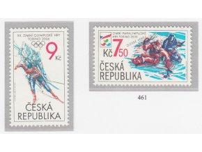 ČR 460-461 Zimné olympijské a paralympijské hry Torino